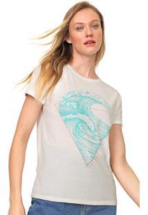 Camiseta Lez A Lez Pansy Off-White - Off White - Feminino - Poliã©Ster - Dafiti