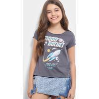 651d52e8b Camiseta Para Meninas Colcci Jeans infantil | Shoes4you