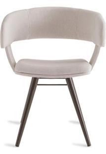 Cadeira Inhotim Assento Estofado Rustico Cru Base Tabaco - 55875 - Sun House