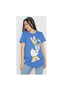 Camiseta Colcci Disney Azul
