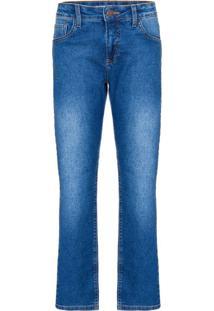 Calça Jeans Five Pockets Skinny - Azul Médio - 2