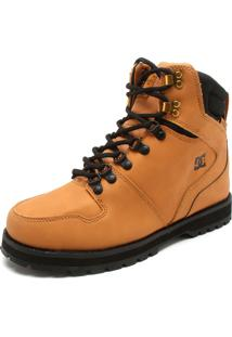 Bota Couro Dc Shoes Peary Caramelo