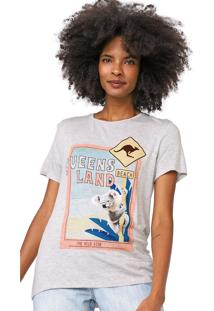 Camiseta Lez A Lez Queensland Cinza