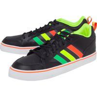 753ef470c4 Dafiti. Tênis Couro Adidas Skateboarding Varial Low Ii Preto