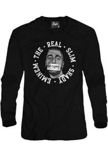 Casaco Moletom Skull Clothing Eminem Masculino - Masculino-Preto
