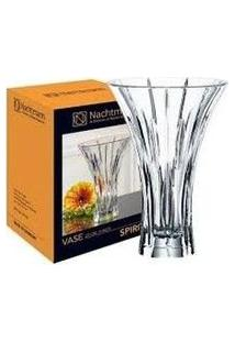 Vaso Decorativo 28Cm De Cristal Transparente - Nachtmann