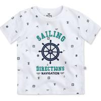 Camiseta Bebê Menino Com Mini Print E Estampa Hering Kids 7d3dbbabab9