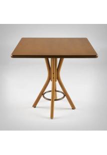 Mesa De Jantar Carpenter Quadrada Madeira Maciça Linha Carpenter Design By Studio Artesian