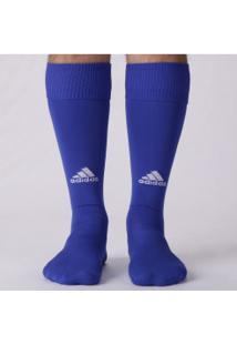 Meião Adidas Básico - Masculino - Azul/Branco