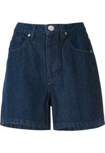Olympiah Short Jeans Reto - Azul