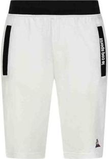 Bermuda Ess Short Regular Nº3 M Branco Xg - Masculino-Branco