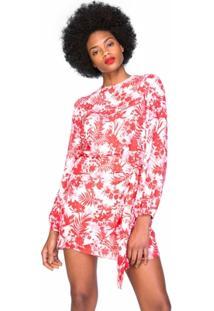 Vestido Amaro Leve De Crepe - Feminino