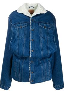 Y/Project Oversized Denim Jacket - Azul