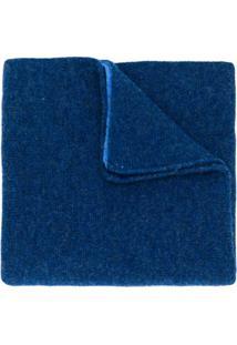 Dell'Oglio Cachecol De Tricô - Azul