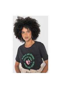 Camiseta Cantão Amor Preta