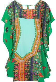Vestido Decote Quadrado Borbelia Farm