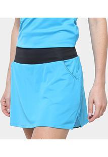 Saia Short Adidas Club Skirt - Feminino
