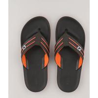 a7bff712f Chinelos Masculinos Laranja Marrom | Shoes4you
