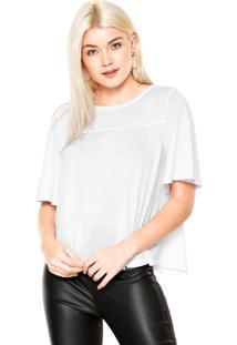 Camiseta Dzarm Ampla Branca