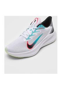 Tênis Nike Zoom Winflo 7 Cinza/Verde