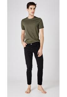 Calça Jeans Express Super Slim Toddy Caqui Preto