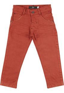 Calça Look Jeans Skinny Collor Ferugem
