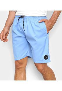 Bermuda Oakley Trunk Masculina - Masculino-Azul
