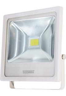Refletor Led Taschibra 30W Verde Tr 30 Branco