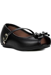 Sapato Para Bebe Menina - Preto