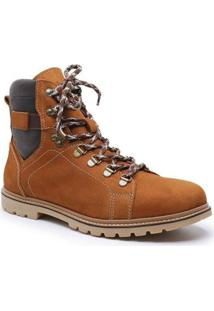 Bota Sandalo Lord Masculina - Masculino-Caramelo
