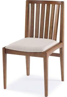Cadeira Brisa Encosto Ripado Assento Estofado - 51168 - Sun House