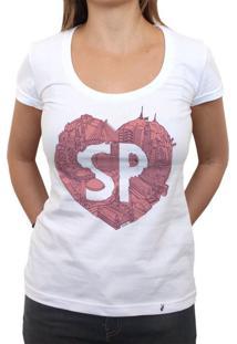 No Meu Coração - Camiseta Clássica Feminina
