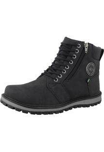 Bota Casual Cr Shoes Masculina Preto