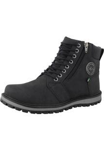 Bota Casual Cr Shoes Masculina Preto - Preto - Masculino - Dafiti