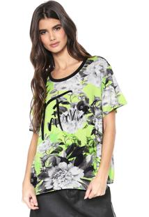 Camiseta Triton Tropical Verde