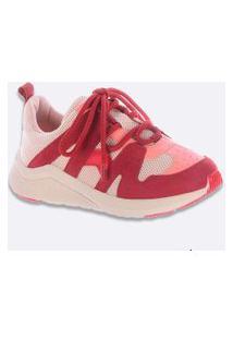Tênis Feminino Chunky Sneaker Recorte Zatz