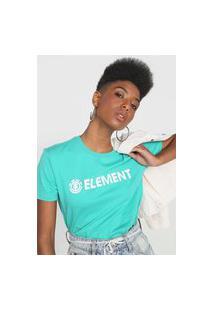Camiseta Element Logo Verde