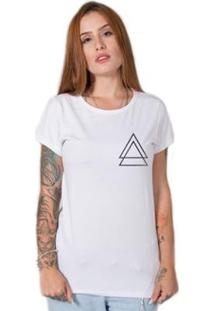 Camiseta Stoned Triple Triangle Feminina - Feminino