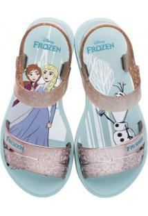 Sandália Infantil Grendene Frozen Snowflake