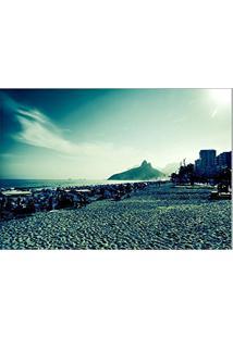 ed8c1c555665 Toalha De Mesa Decorativa, Criativa, Colorida E Descolada   Praia De  Ipanema No Rio