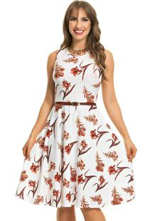 Vestido Social Gode Floral