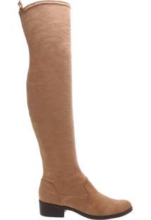 Bota Over The Knee Strech Caramel | Schutz