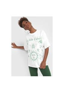 Camiseta Colcci We Are Pulse Off-White