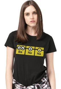 Camiseta Bandup! Minions Banana - Feminino