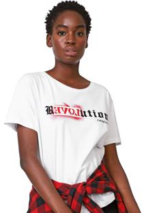 Camiseta Cavalera Revolution Branca