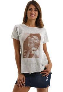 Camiseta Equivoco Primavera Feminina - Feminino