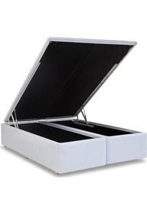 Cama Box Baú Ortobom Courino White Queen 158