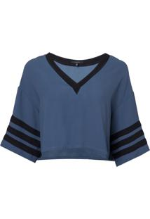 Camiseta Rosa Chá Sport Feminina (Insignia Blue, Pp)