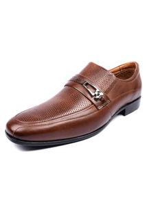 Sapato Social Shoes Grand Siena Tabaco