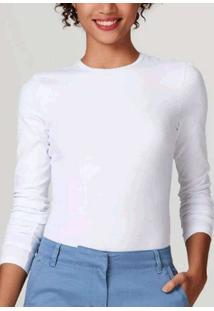 Camiseta Ml Hering 02Qy Noa-Branco